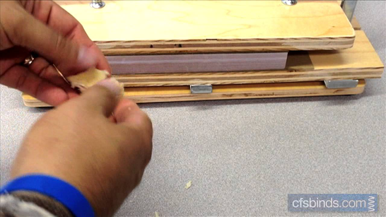 Using Fan Apart Carbonless Adhesive On
