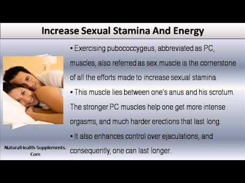 How to make your sex stamina longer