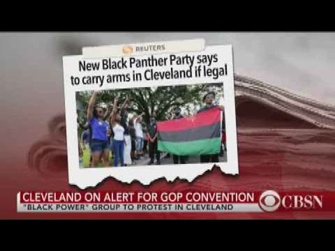 TEST Black Panther Party Shuts Down Convention Protest Allegations