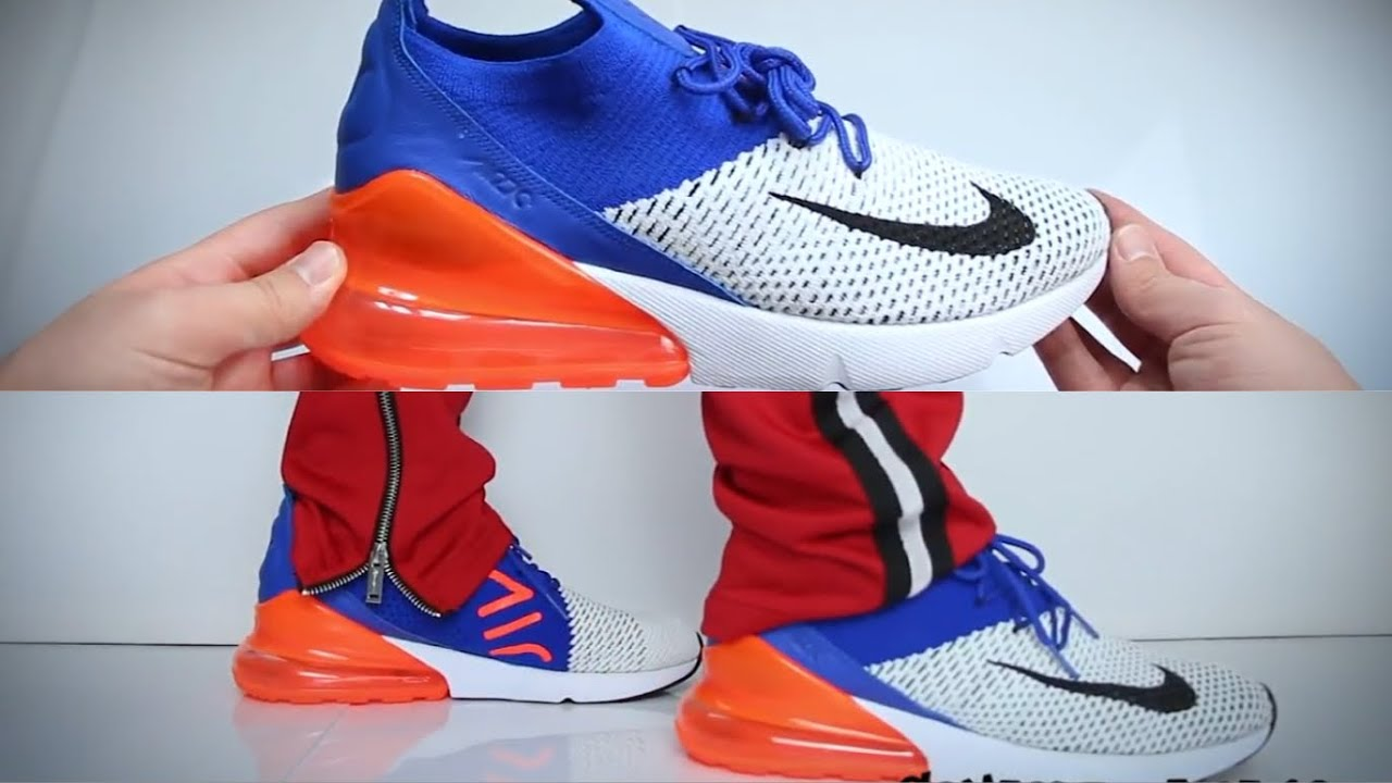Nike Air Max 270 Flyknit | UNBOXING | ON FEET | Mennace Pants