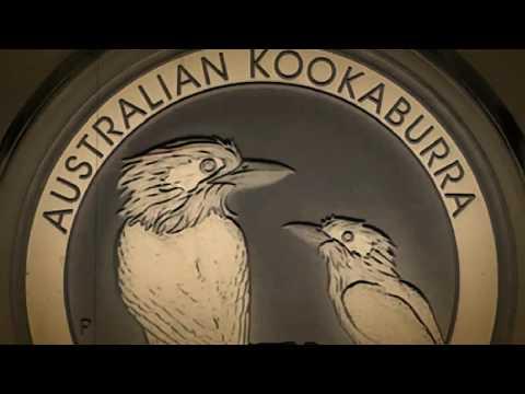2017 AUSTRALIAN KOOKABURRA ONE OUNCE 99.9% SILVER BULLION COIN