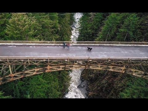 Fairfax Bridge and Carbon River - Part II | 4K Drone Footage 2018