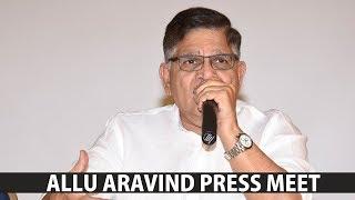 Allu Aravind Press Meet   | RGV, Sri Reddy, Paw...