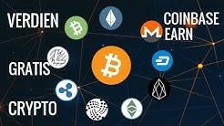 Aflevering 1 Verdien Gratis Crypto Met Coinbase Earn! (Free Crypto)