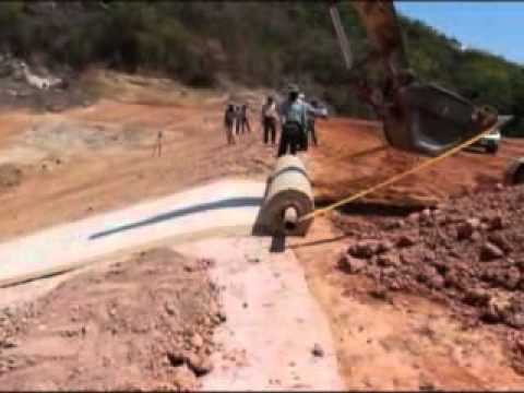 วิธีการปูแผ่นดินเหนียวสังเคราะห์ (GCL)