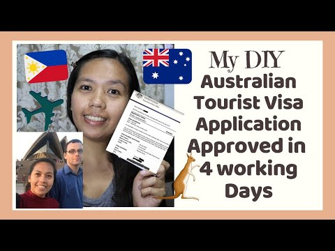 Australian Tourist Visa In 4 Working Days W/ Multiple Entries/ DIY( Experiences,Tips & Requirements)