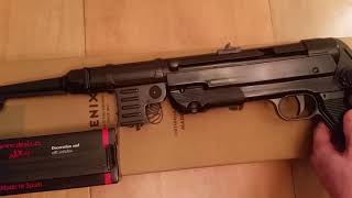Автомат Шмайсер МП-40 Деникс, MP40 Sub-machine Gun, Germany 1940, Denix Replica 1111