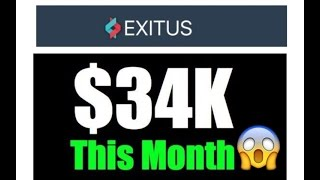 exitus elite review income proof 34 000 in one month by a 17 year old
