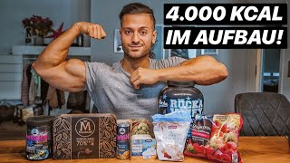 4.000 Kcal im Aufbau | Full Day Of Eating