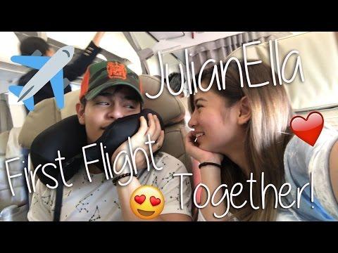 [VLOG] JulianElla First Flight Together