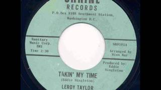 Leroy Taylor and The Four Kays- Takin
