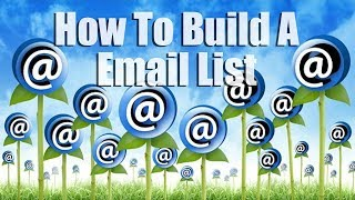 How To Build A Huge Email List