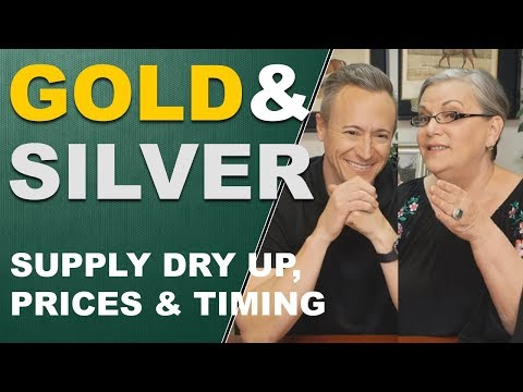 Gold and Silver Supply Dry Up, Prices and Timing. Q&A with E