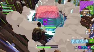 Bug Fortnite! Cart flies away!