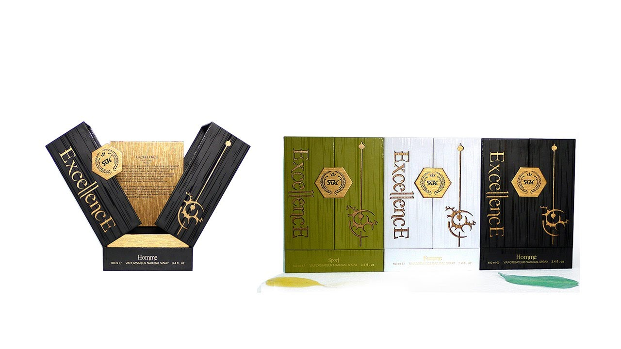 Double Openning Perfume Bottle Box Packaging—KALI Paper Box manufacturer