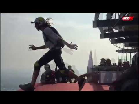 Mikey - VIDEO: Malaysia's KL Tower Base Jump 2019