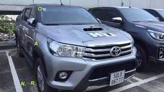 [Đã bán] Bán xe Toyota Hilux 2015 cũ 3.0G số sàn giá 600 triệu tại Toyota Tân Cảng