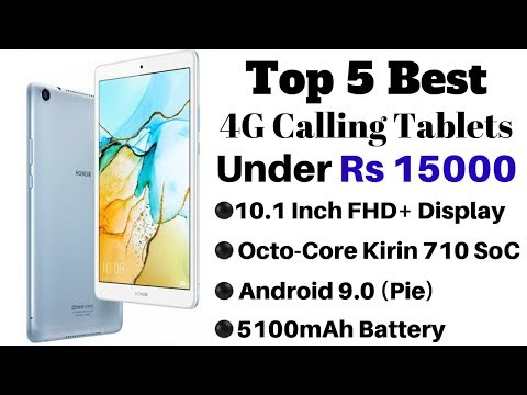 Top 5 Best 4G Calling Tablets Under Rs 15000 In India 2019   10.1 Inch FHD+ Display, 5100mAh Battery