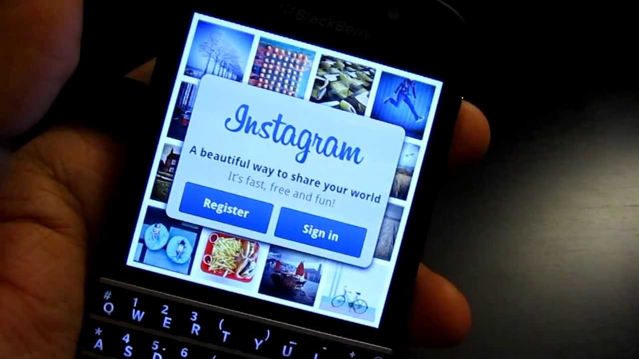 Blackberry Z10/Z30/Q10/Q5/Z3- how to side load apps (eg Instagram on  Q10,Z10 and Q5)