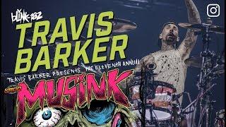 Travis Barker LIVE @ Musink 2018 | Drum-cam |