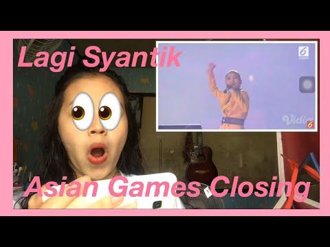 CLOSING CEREMONY ASIAN GAMES 2018 | LAGI SYANTIK REACTION