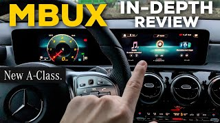 MERCEDES NEW MBUX SYSTEM IN-DEPTH REVIEW | 2019 MERCEDES A CLASS