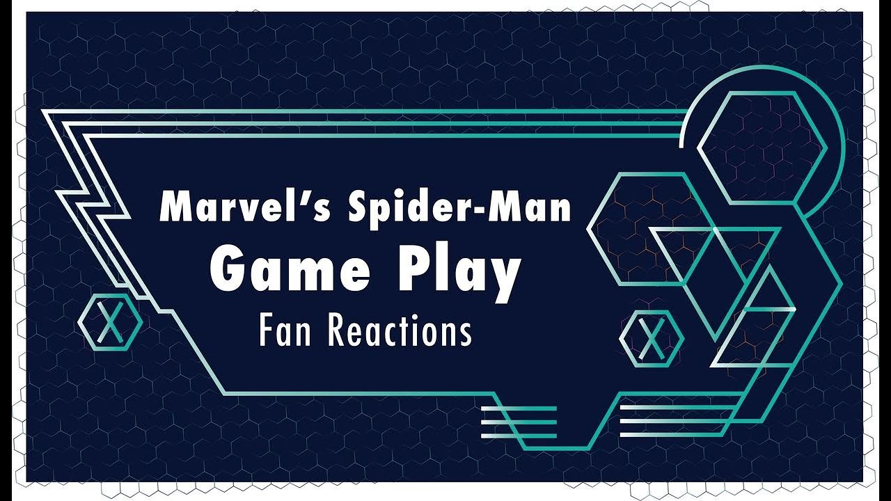 Fans React to Marvel's Spider-Man (PS4) Gameplay   Marvel @ E3 2018