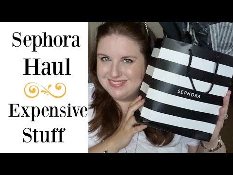 Sephora Haul   Expensive Stuff