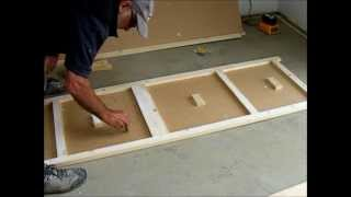 Make A Pair Of Flush Wardrobe Doors