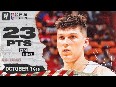Tyler Herro CRAZY Full Highlights vs Atlanta Hawks (2019.10.14) - 23 Pts, 5 Threes!