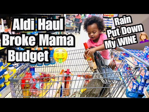Aldi Haul 9/28/20 | Broke Mama Budget - Where Are The Pandemic Foodstamps 😩