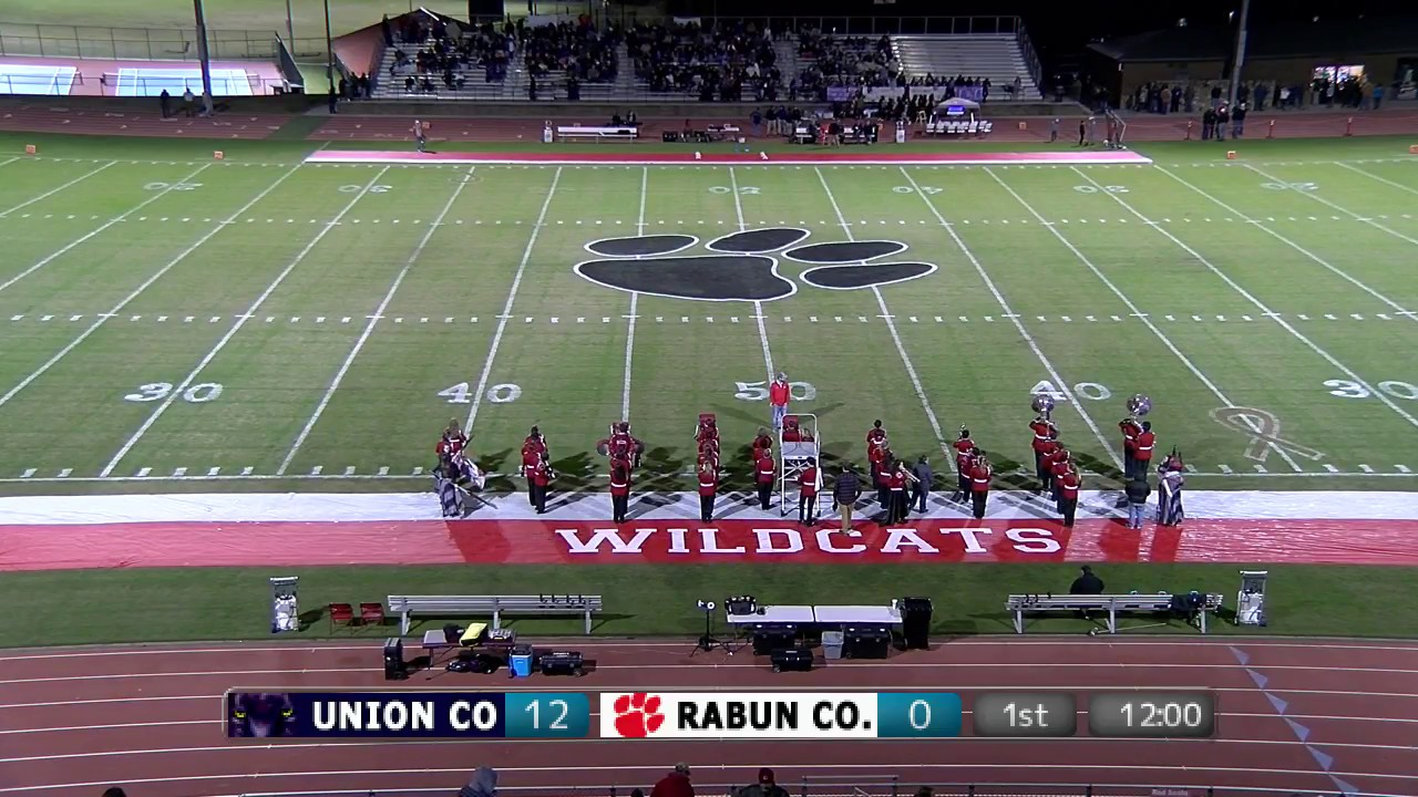 Union County Panthers Vs Rabun County Wildcats 11 02 18 Youtube