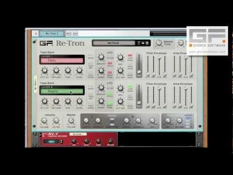 GForce Software Re-Tron Rack Extension