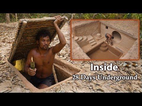 Building Underground House With Underground Swimming Pool - 2
