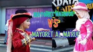 MAYORET CANTIK SMA AL MA'RUF VS MAYORET MA NAHMUS UNDAAN KUDUS