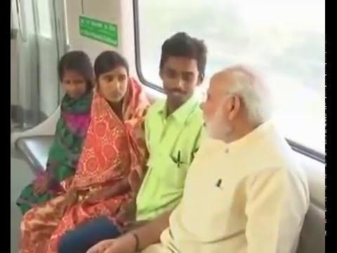 Modi travelling in train. Passengers shocked!!!!! Full Video