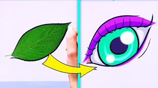 32 SIMPLE YET COOL DRAWING TRICKS THAT ARE SO SATISFYING