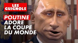 Vladimir Poutine participe au tirage au sort de la Coupe du Monde 2018 - Les Guignols - CANAL+
