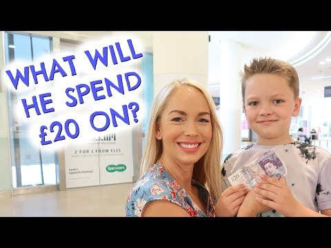 WHAT WILL HE SPEND £20 ON?  FAMILY DAY IN THE LIFE AT INTU LAKESIDE  |  EMILY NORRIS AD