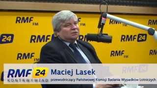 Maciej Lasek: Bardzo tajemnicza katastrofa. Było paliwo i zasilanie, piloci mogli stracić świadomość