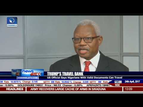 US Official Says Nigerians With Valid Documents Can Travel