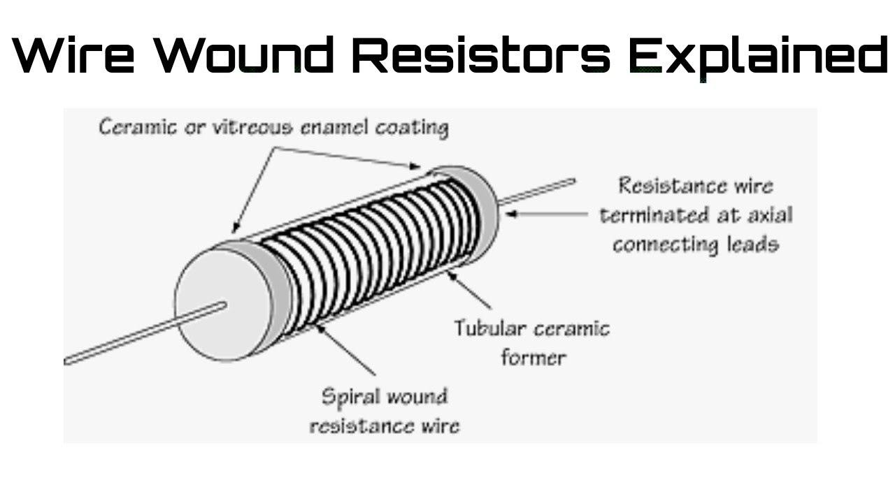 Wire Wound Resistors Explained  Applications Advantages