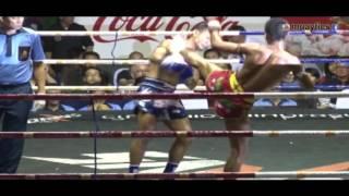 TOP 20 KO Muay Thai 2015 ( тайский бокс нокауты )