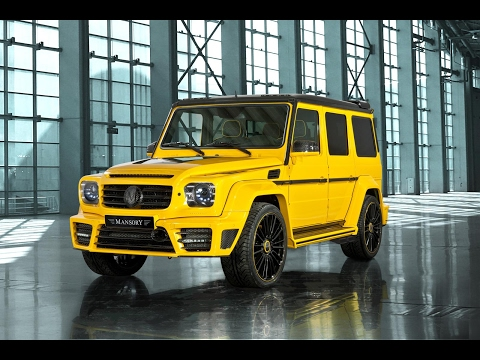 Mercedes Benz G63 AMG тюнинг на миллион долларов [ тюнинг ателье ]
