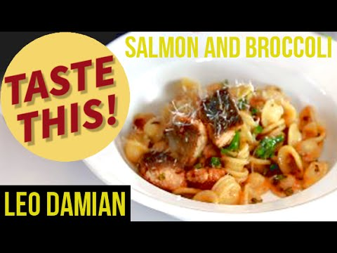 Salmon And Broccoli Pasta With A Twist