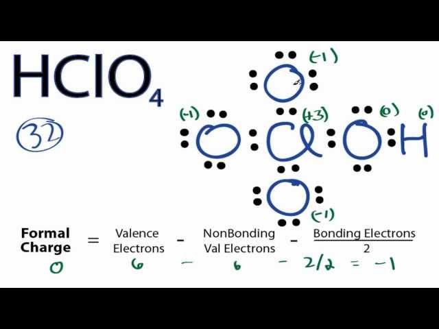 Hclo4 Dot Diagram Circuit Connection Diagram