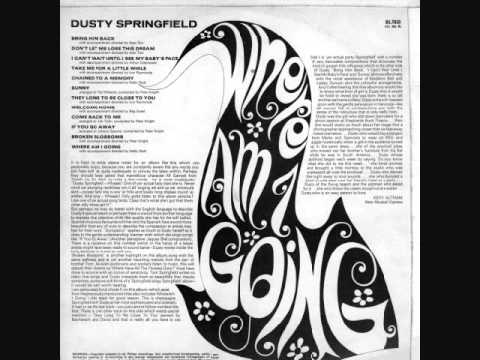"Dusty Springfield ""Time After Time"""