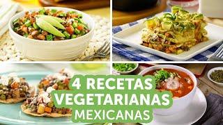 4 recetas vegetarianas mexicanas | Kiwilimón