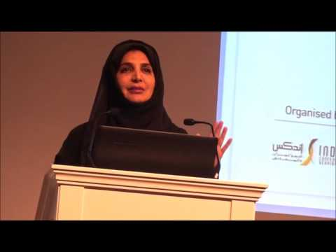DIHAD 2017 H E  Ms  Afra Rashid Al Basti, Member of the Federal National Council