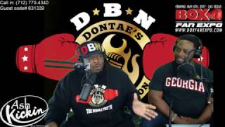 (CALL IN) LIVE DBN RADIO!! THURMAN-GARCIA PULLS IN HUGE AUDIENCE, CHARLO-HATLEY, ANDRADE-CAUCAY